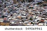 greek buildings lindos | Shutterstock . vector #549069961
