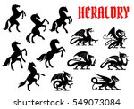 Heraldic Mythical Animals...