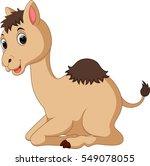 camel cartoon   Shutterstock .eps vector #549078055