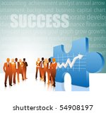 business people | Shutterstock .eps vector #54908197
