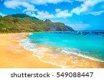 beach in tenerife  canary... | Shutterstock . vector #549088447