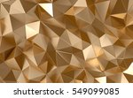gold background  luxury 3d...   Shutterstock . vector #549099085