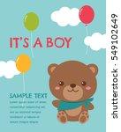 Cute Teddy Bear Vector...
