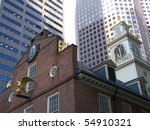 Detail Of The Old Boston City...