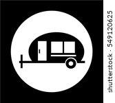 recreation vehicle icon | Shutterstock .eps vector #549120625