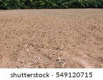 empty ground soil preparetion | Shutterstock . vector #549120715