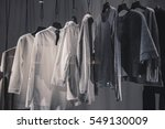 urban clothing | Shutterstock . vector #549130009