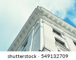 beautiful old facade at a... | Shutterstock . vector #549132709