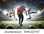 multi sports proud players... | Shutterstock . vector #549133747
