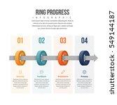 vector illustration of ring... | Shutterstock .eps vector #549144187