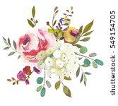 Pastel  Watercolour Floral ...