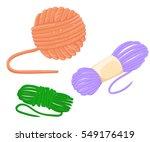 hand drawn vector vintage... | Shutterstock .eps vector #549176419