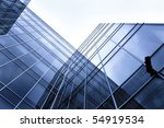 new office building in business ... | Shutterstock . vector #54919534