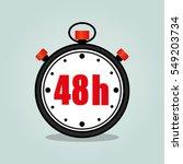 illustration of forty eight... | Shutterstock .eps vector #549203734