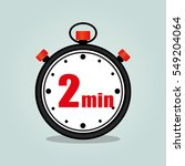 illustration of two minutes... | Shutterstock .eps vector #549204064
