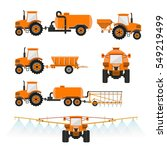 set of vector agricultural... | Shutterstock .eps vector #549219499
