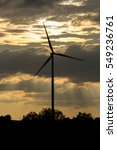 wind turbine power generator at ...   Shutterstock . vector #549236761