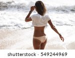 outdoor summer lifestyle image... | Shutterstock . vector #549244969