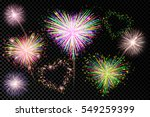 vector holiday valentine... | Shutterstock .eps vector #549259399