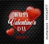 valentine's day | Shutterstock . vector #549263977