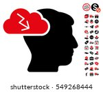brainstorming pictograph with...   Shutterstock .eps vector #549268444