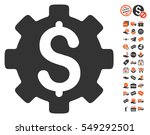 development cost icon with free ... | Shutterstock .eps vector #549292501