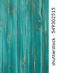 Turquoise Wooden Background  ...
