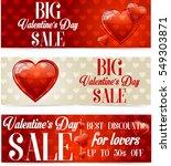 valentine's day sale | Shutterstock . vector #549303871