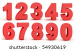 figures on a white background | Shutterstock . vector #54930619