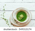 pea soup  | Shutterstock . vector #549313174