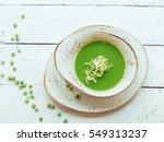pea soup  | Shutterstock . vector #549313237