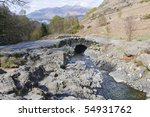 Ashness Bridge Above Derwent...