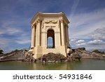 chateau de peyrou  montpellier  ... | Shutterstock . vector #54931846