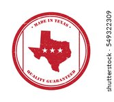 texas stamp badge tag in... | Shutterstock .eps vector #549322309