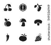 set of 9 editable food and...