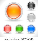 buttons for web | Shutterstock .eps vector #54936586