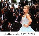 blake lively attends the 'slack ... | Shutterstock . vector #549370249