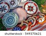 romanian traditional ceramic ... | Shutterstock . vector #549370621