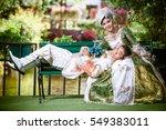 thai people prewedding. | Shutterstock . vector #549383011