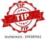 tip. stamp. sticker. seal.... | Shutterstock .eps vector #549389461