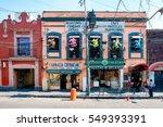 mexico city mexico   december... | Shutterstock . vector #549393391