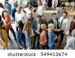 party people communication...   Shutterstock . vector #549413674