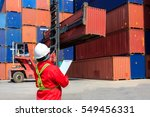 foreman control loading... | Shutterstock . vector #549456331