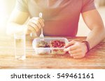 healthy eating  balanced diet ... | Shutterstock . vector #549461161