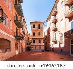 laigueglia  italy   march 18 ... | Shutterstock . vector #549462187