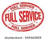 full service grunge rubber... | Shutterstock .eps vector #549465859