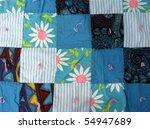 blue quilt   Shutterstock . vector #54947689