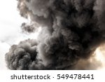 pollutant and thick smoke from... | Shutterstock . vector #549478441