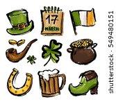 a set of illustrations for... | Shutterstock .eps vector #549480151