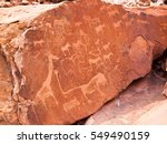 Bushman Engravings In The...